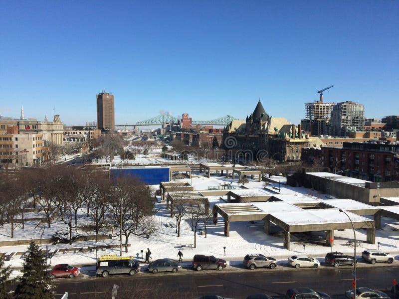 Montreal miasta widok obraz stock