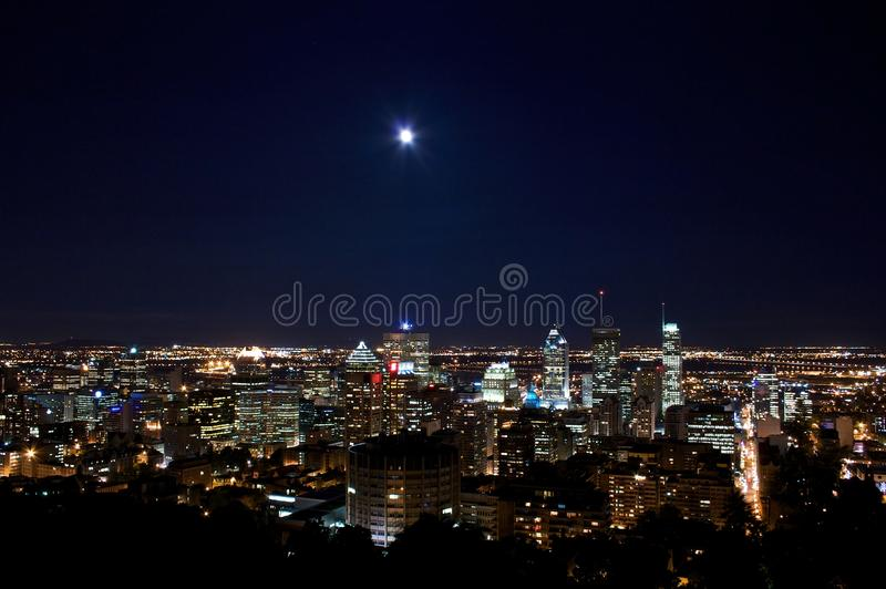 Download Montreal By Moon Light Royalty Free Stock Image - Image: 20246546
