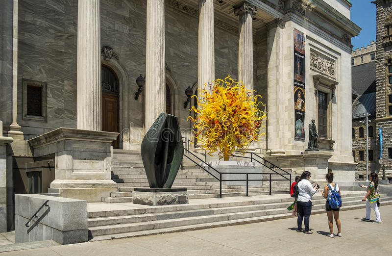 Montreal museum of fine arts. The Montreal Museum of Fine Arts MMFA French: Musée des beaux-arts de Montréal is an art museum in Montreal, Quebec, Canada stock image