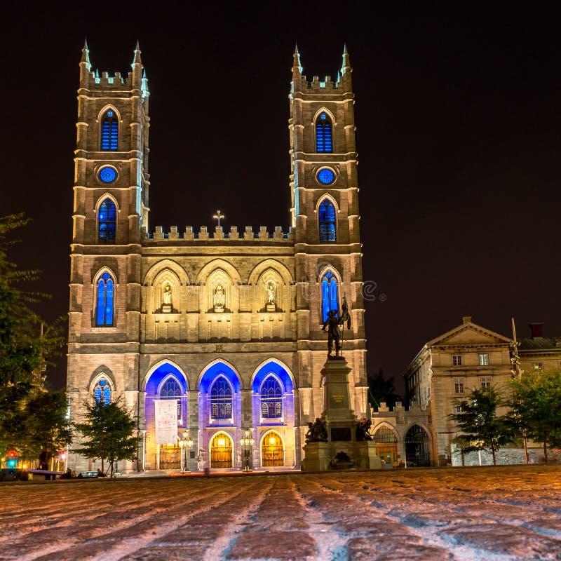 Montreal Notre Dame Basilica stockbild