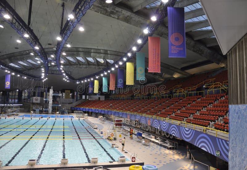 Montreal, o 27 de junho: Interior de construção de Biodome no parque olímpico de Montreal na província de Quebeque de Canadá fotografia de stock royalty free