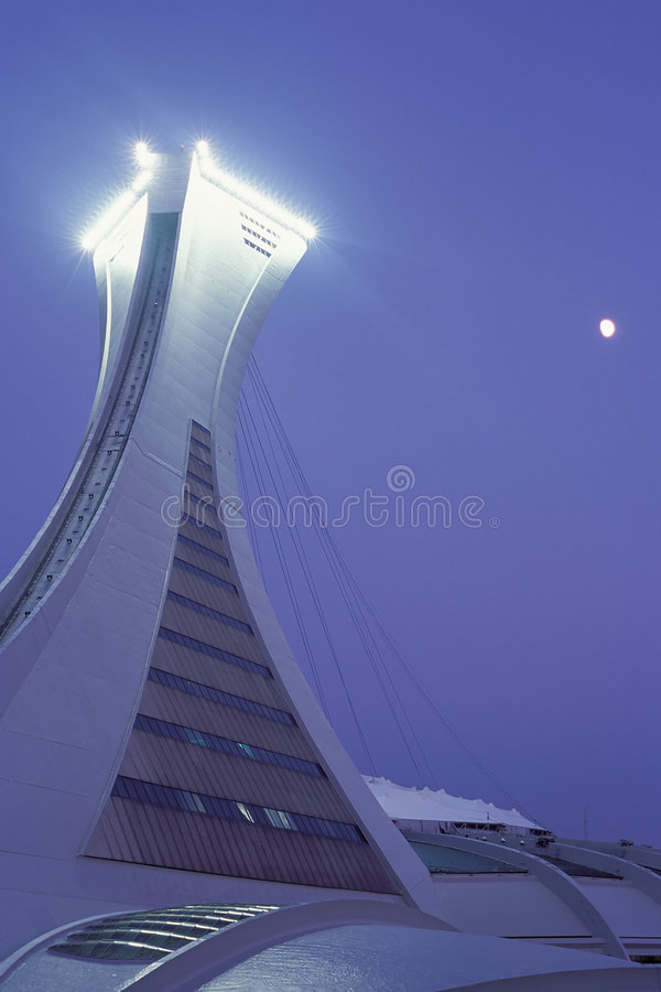 Download Montreal Olympic Stadium editorial stock photo. Image of beautiful - 1808958