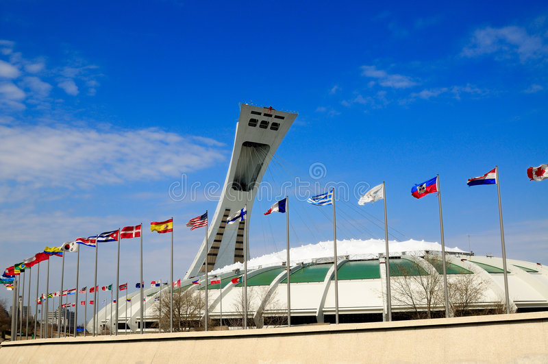 Download Montreal Olympic Stadium editorial image. Image of biodome - 5068490