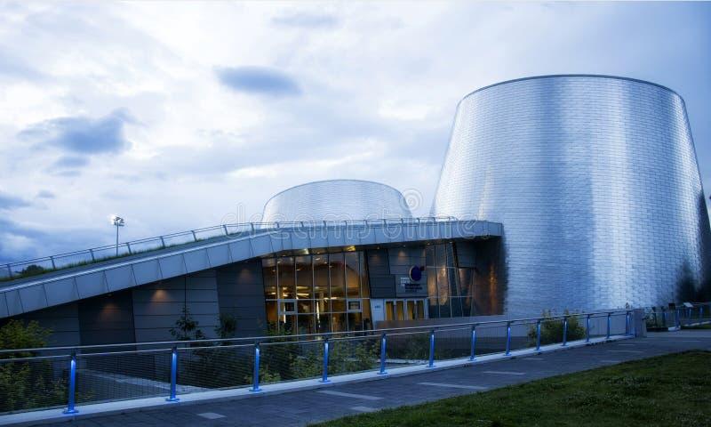 Montreal planetarium obraz stock