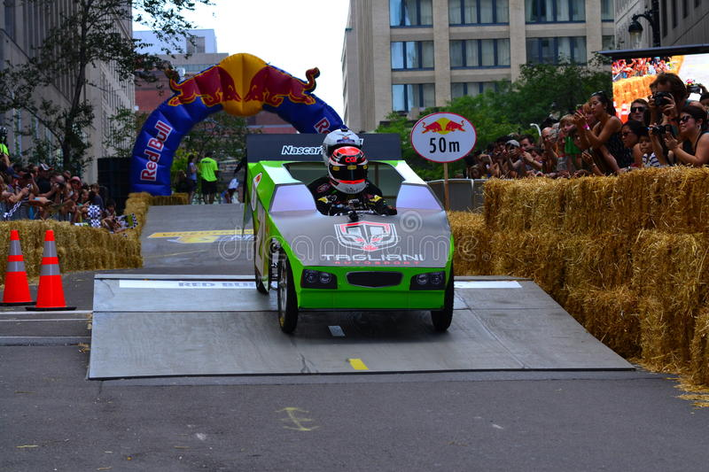 Montreal Red Bull Soapbox Race royalty free stock photo