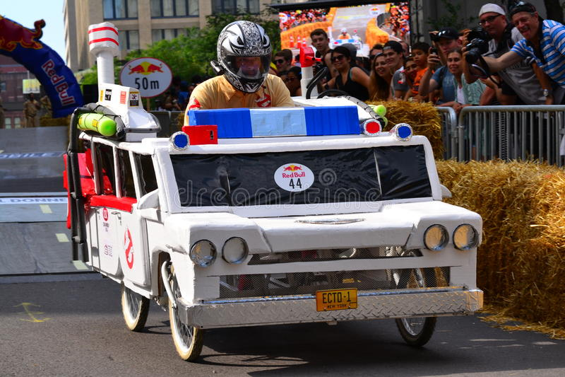 Montreal Red Bull Soapbox Race royalty free stock image