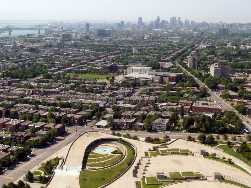 Montreal's Olympic Stadium stock image