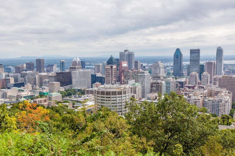 Download Montreal skyline stock image. Image of view, city, montreal - 34553703