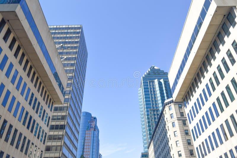 Montreal stad royaltyfria foton