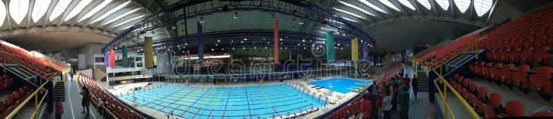 Montreal stadium basenu Olimpijska panorama zdjęcie royalty free