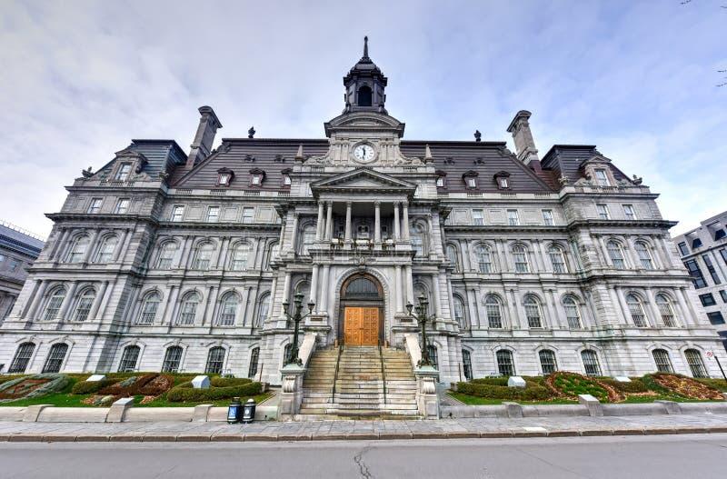 Montreal stadshus royaltyfri bild