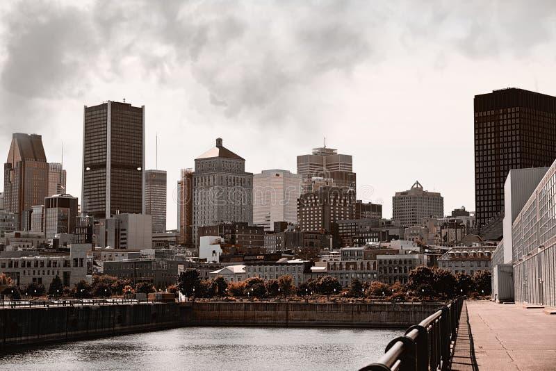 Montreal-Stadt Quebec Kanada lizenzfreies stockfoto