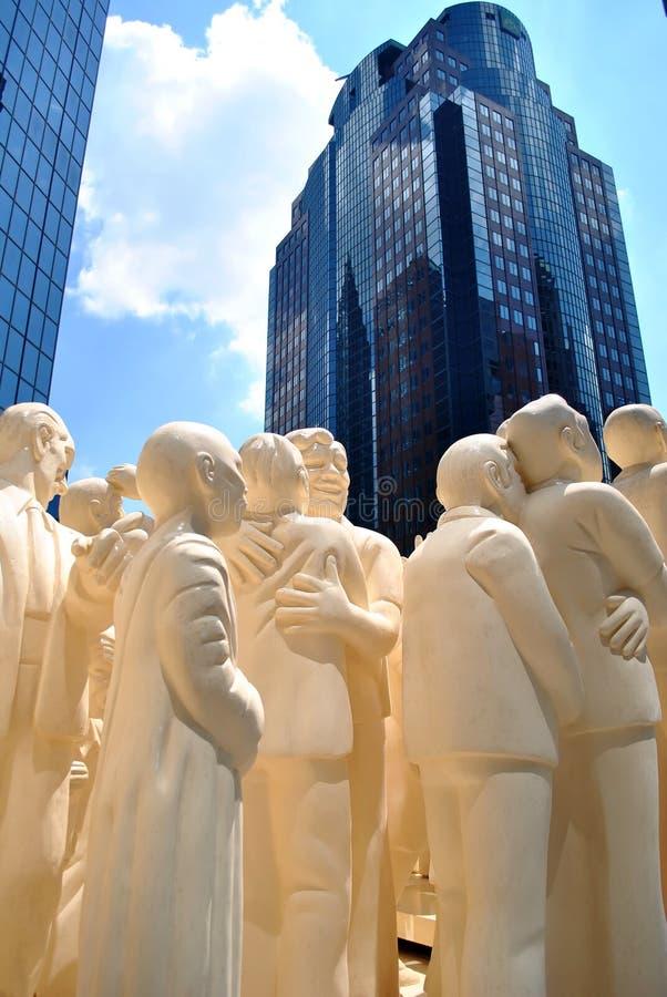 Montreal statua obraz royalty free