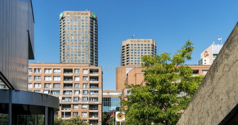 Montreal van de binnenstad royalty-vrije stock foto
