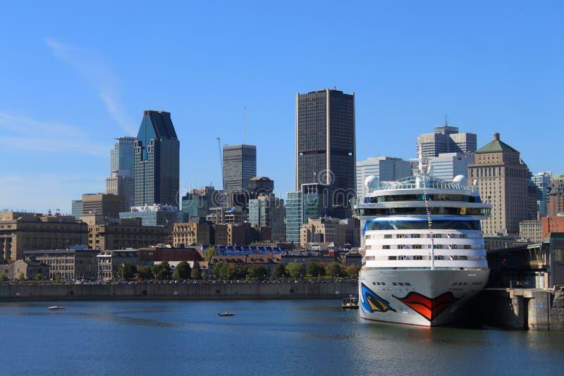 Montreal van de binnenstad Canada royalty-vrije stock foto's