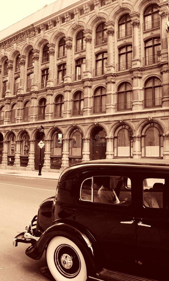 Montreal vieja imagenes de archivo
