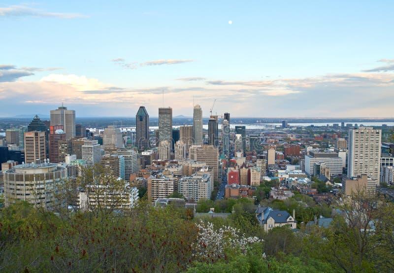 Montreal, visión escénica fotos de archivo