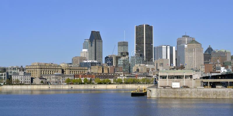 Montreal w wiośnie zdjęcia stock