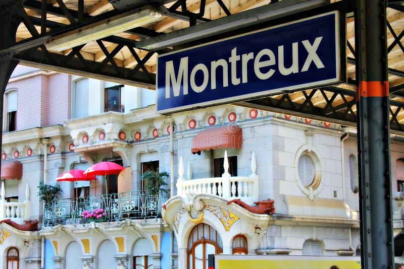 Montreaux 图库摄影