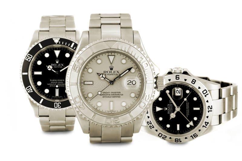 Montres de Rolex image stock