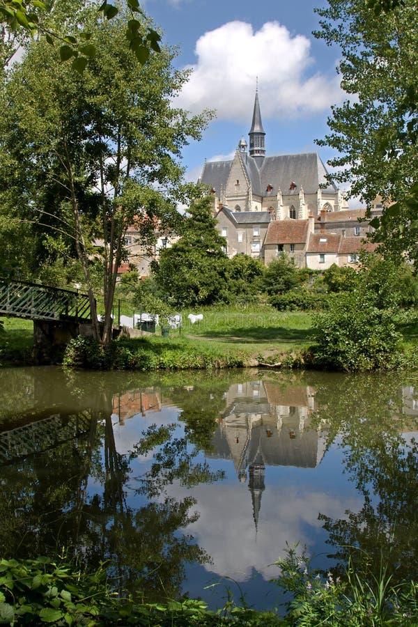 montresor Франции стоковое изображение
