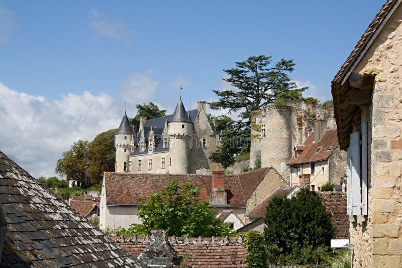 Montresor Франция стоковые фото