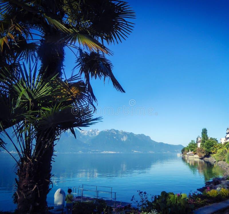 montreux Швейцария стоковые изображения