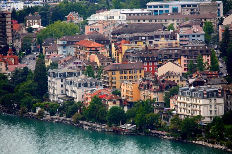 Montreux royalty-vrije stock fotografie