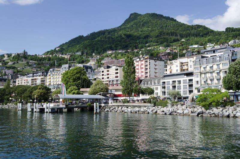 Montreux royalty-vrije stock afbeeldingen