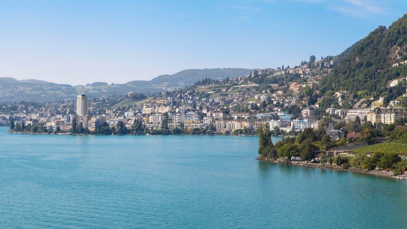 Montreux royaltyfri fotografi