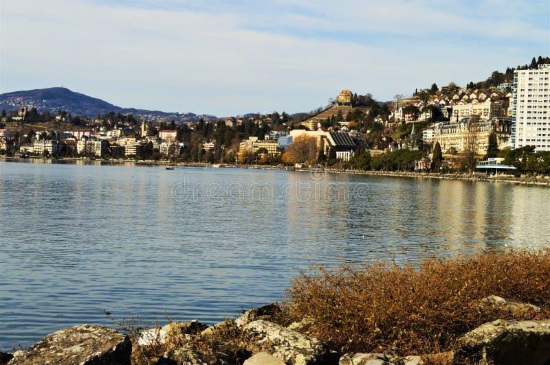 Montreux, die Schweiz lizenzfreie stockbilder