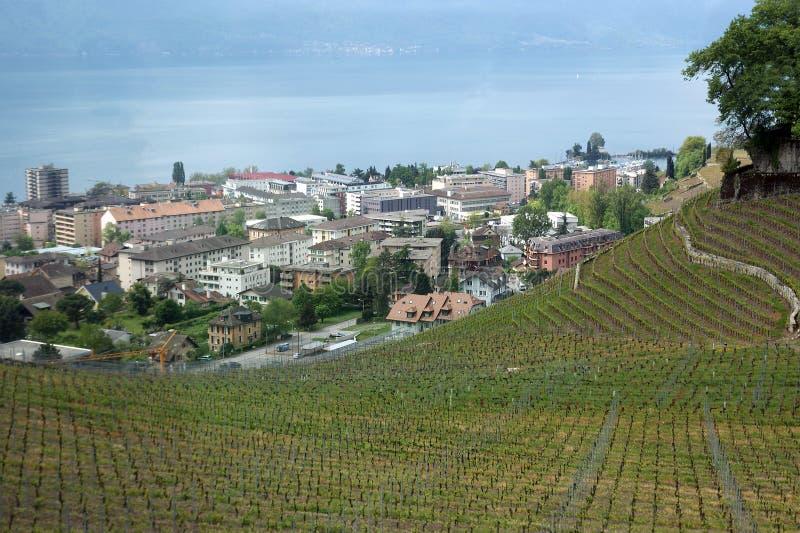 Montreux, Zwitserland stock afbeelding