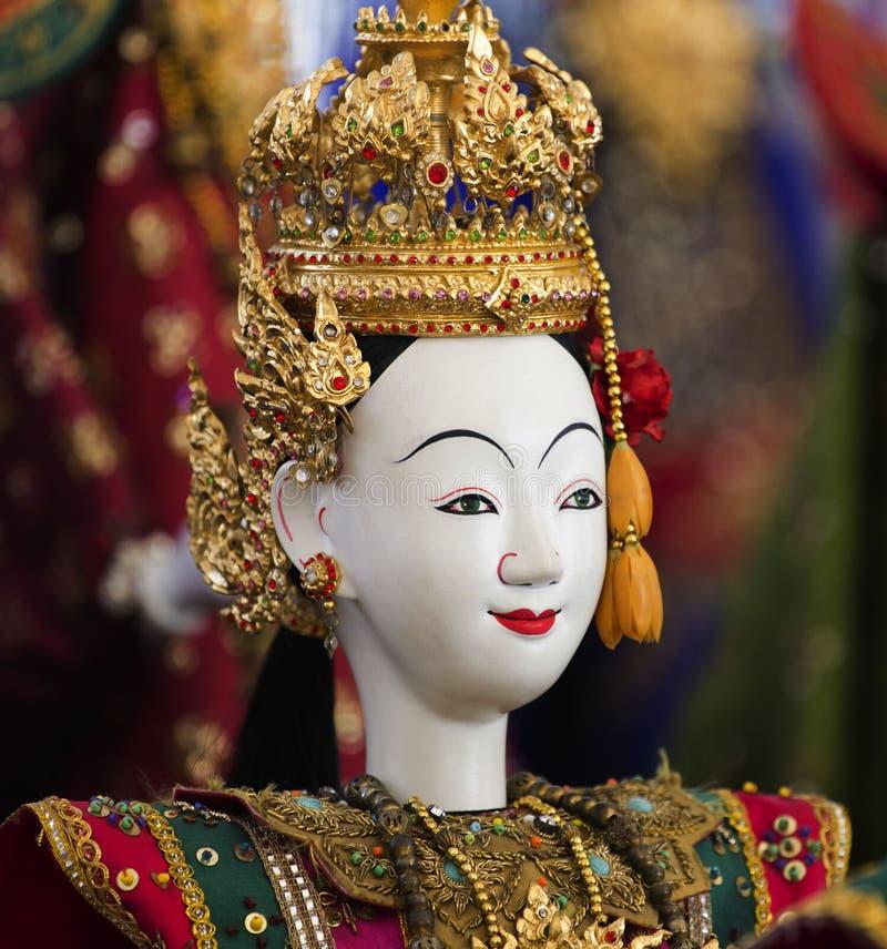 Montrez la héroïne modèle de drame pour la marionnette (la marionnette) image stock