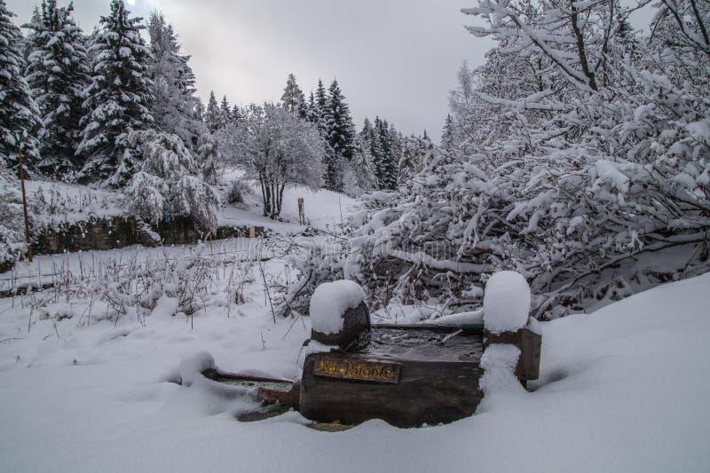 Montroc, Chamonix, haute Savoie, Frankreich lizenzfreie stockfotos