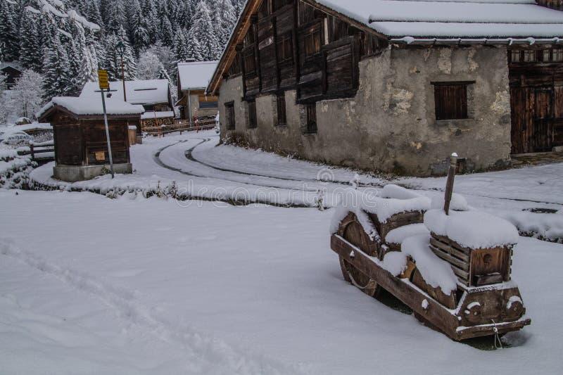 Montroc, Chamonix, haute Savoie, Frankreich stockfotos