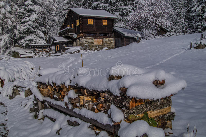 Montroc, Chamonix, haute Savoie, Frankreich stockfoto