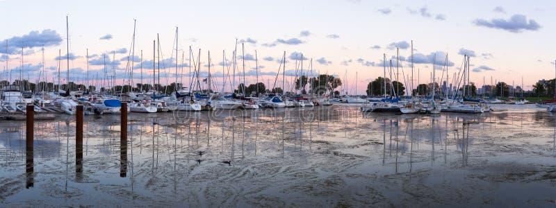 Montrose Harbor royalty-vrije stock foto's