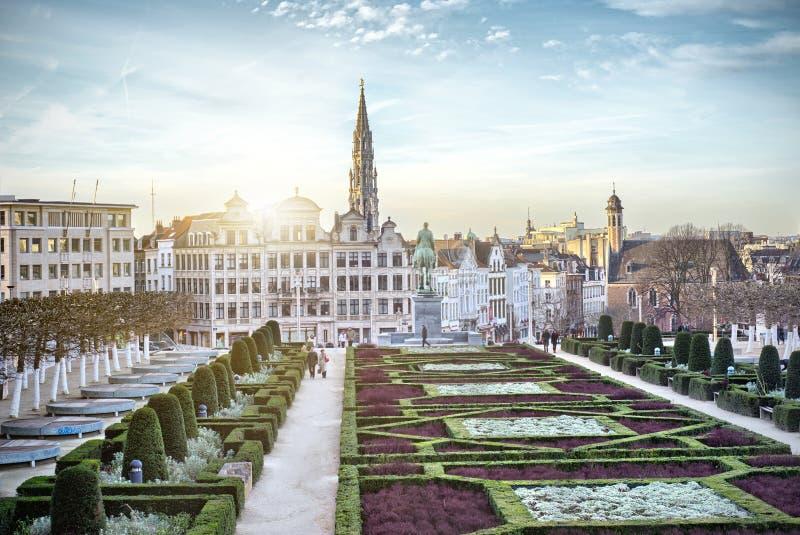 Monts des sztuki w Bruksela obraz stock