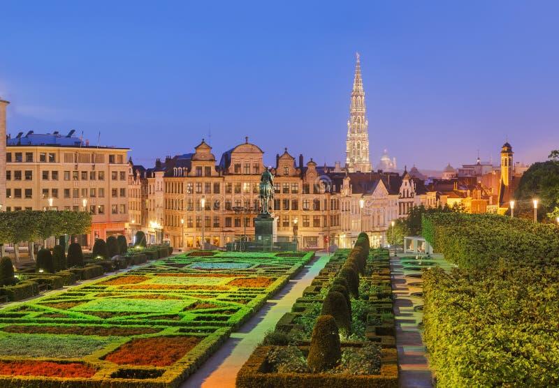 Monts des sztuki w Brukselskim Belgia zdjęcia stock