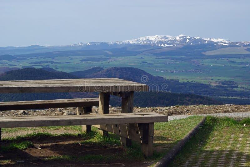 Monts Dore photos stock