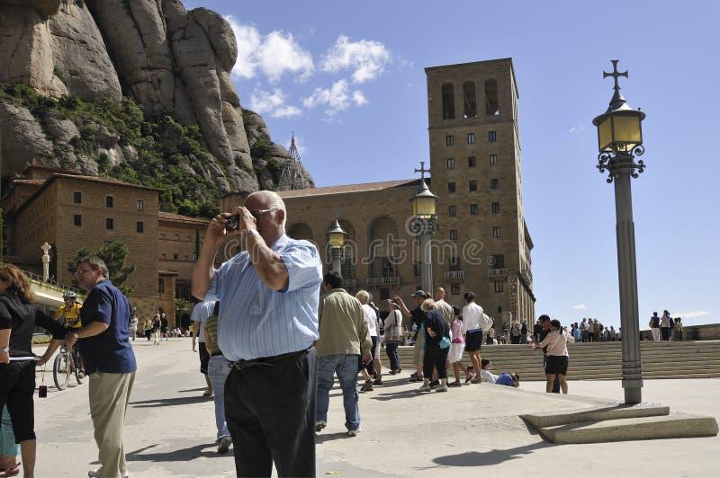 Montserrat, Barcelona imagem de stock