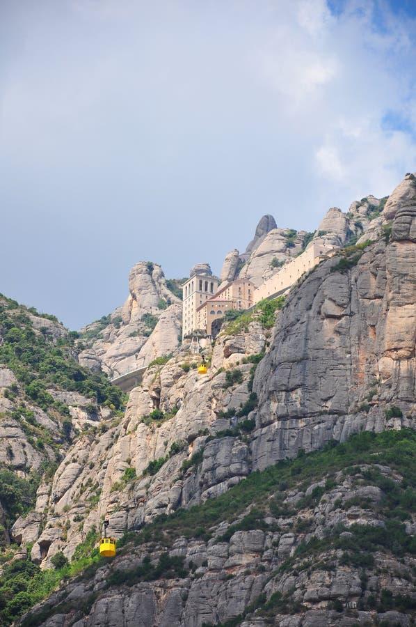 Montserrat Barcelona royalty-vrije stock afbeeldingen