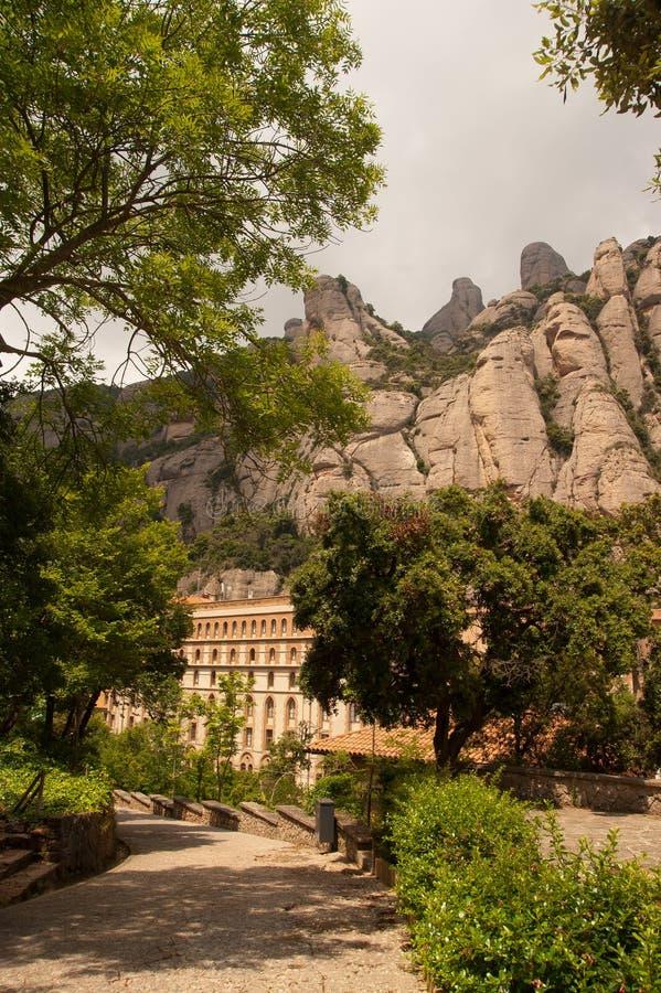 Montserrat Barcelona, Spain royalty free stock image