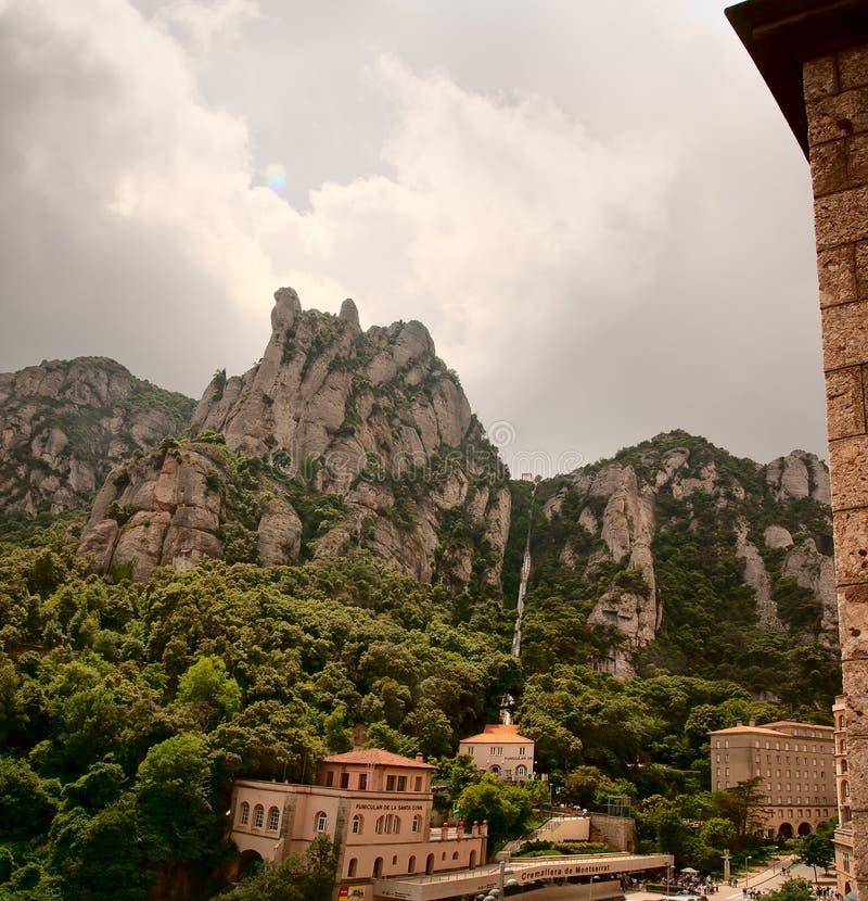 Montserrat Catalonia Spain stock photography