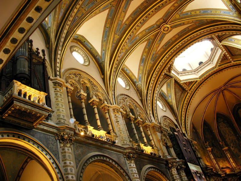 Montserrat church stock images