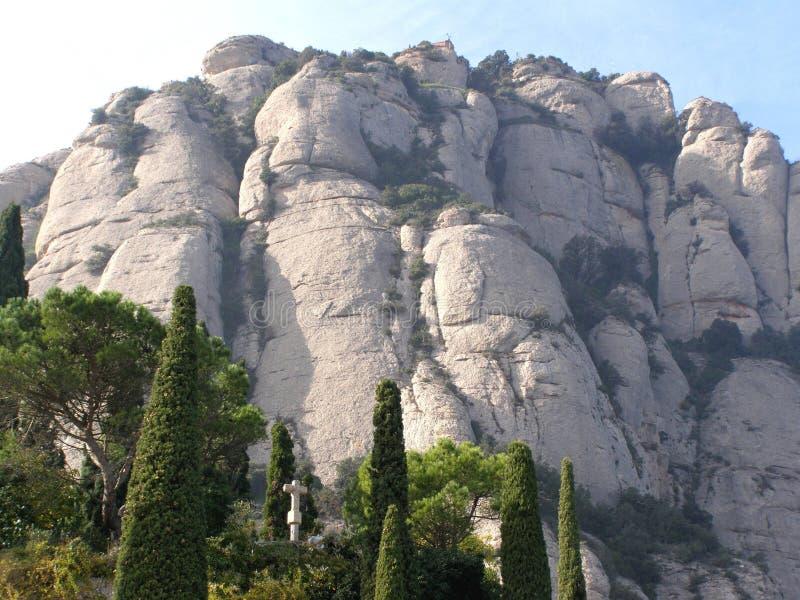 montserrat Hiszpanii zdjęcia royalty free
