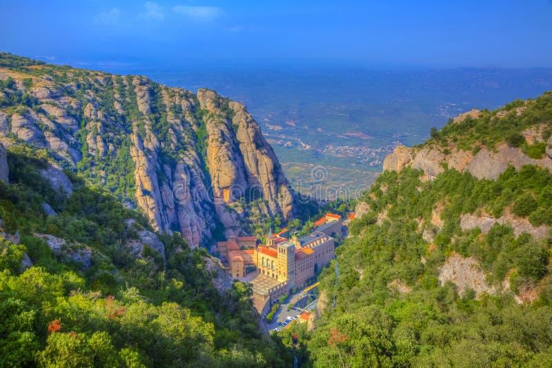 Download Montserrat Monastery stock image. Image of catalonia - 88600023