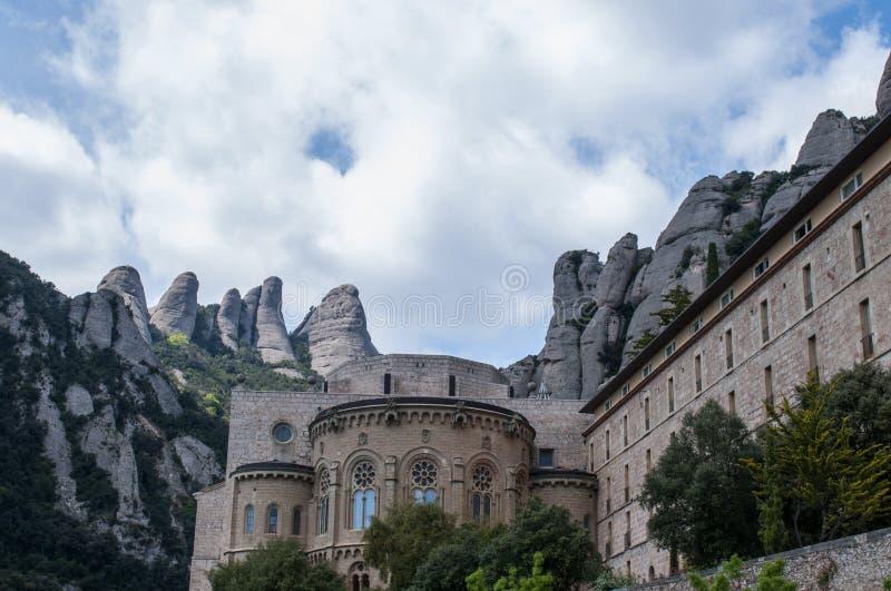 Montserrat Monastery royalty free stock photography