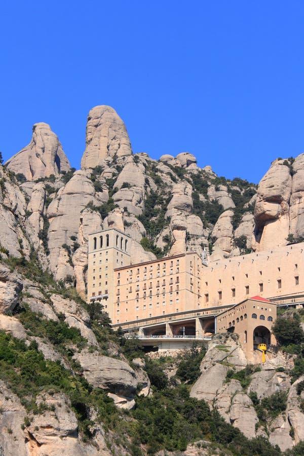 Montserrat monastery (Catalonia, Spain) royalty free stock images