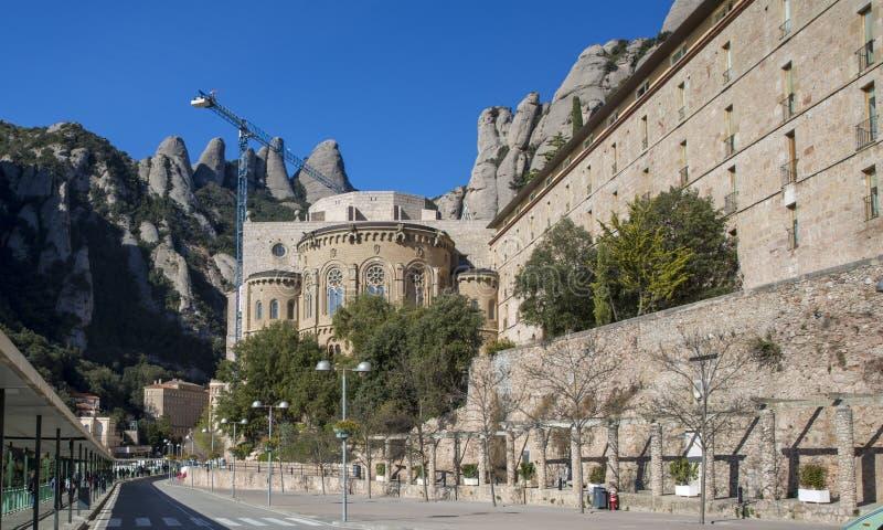Montserrat Monastery Spain Catalonia photographie stock libre de droits